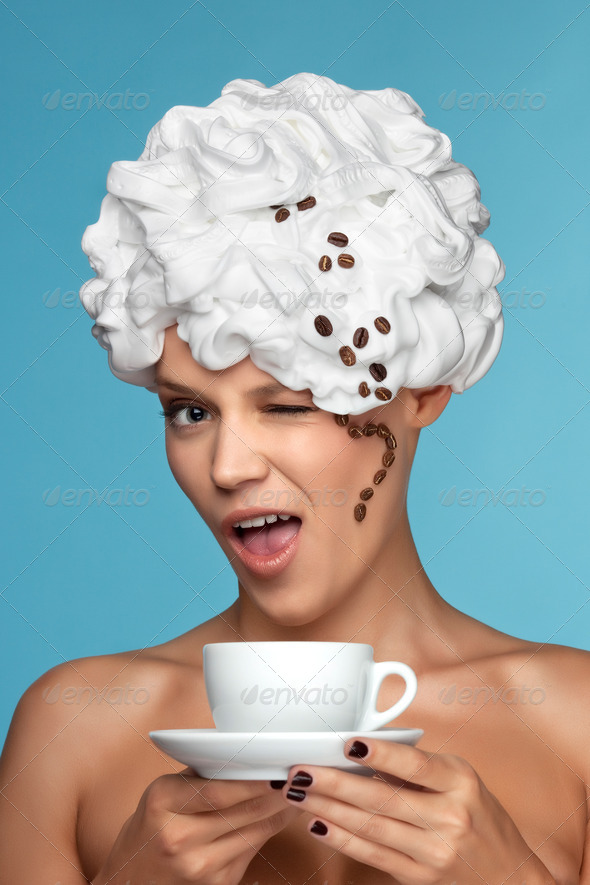 Boston coffee. - Stock Photo - Images