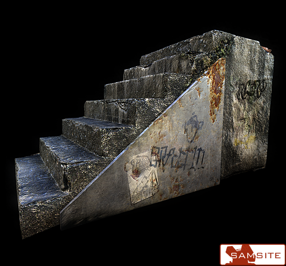 3DOcean Old Stairs 98986
