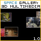 SPACE 3D Media Gallery - YouTube, Deeplinkinking - ActiveDen Item for Sale