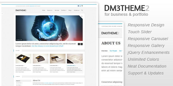 Dm3theme2 - Business and Portfolio (Responsive)