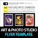 Art Photo Studio Flyer PSD Template - GraphicRiver Item for Sale