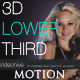 Elegant 3D Crash Lower Third - VideoHive Item for Sale