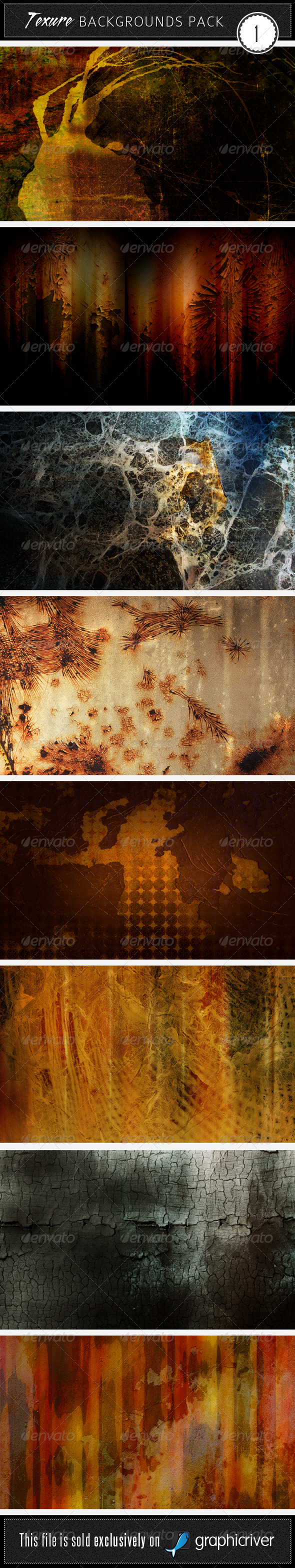 GraphicRiver Texture Backgrounds Pack 1 35159