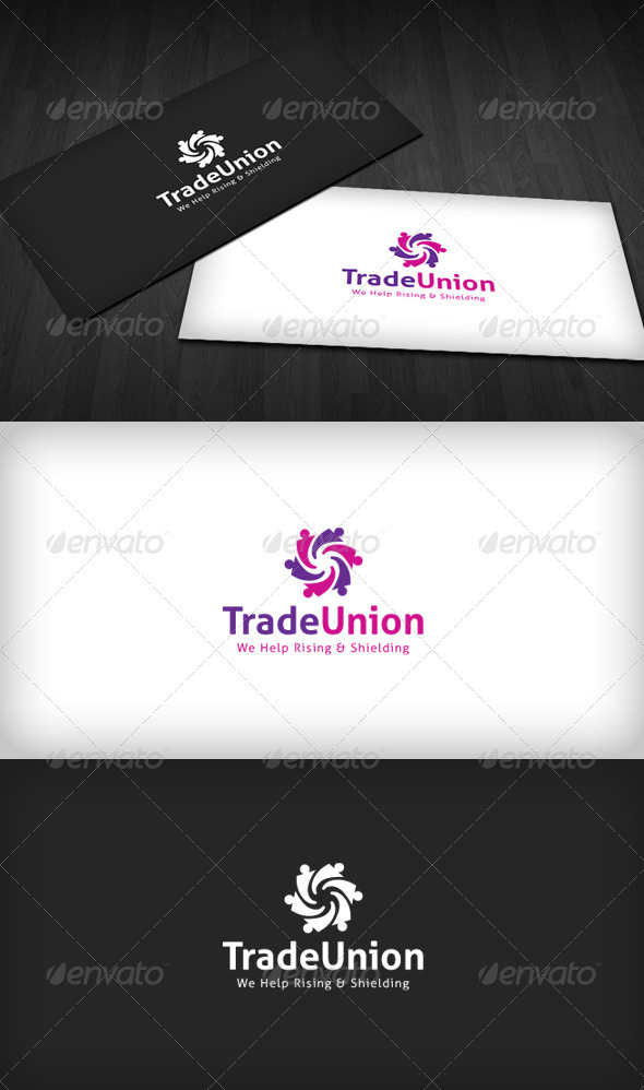 Trade Union Logo - Humans Logo Templates