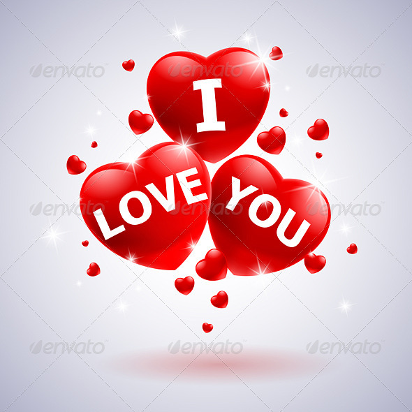 GraphicRiver I love you with heart 2747769