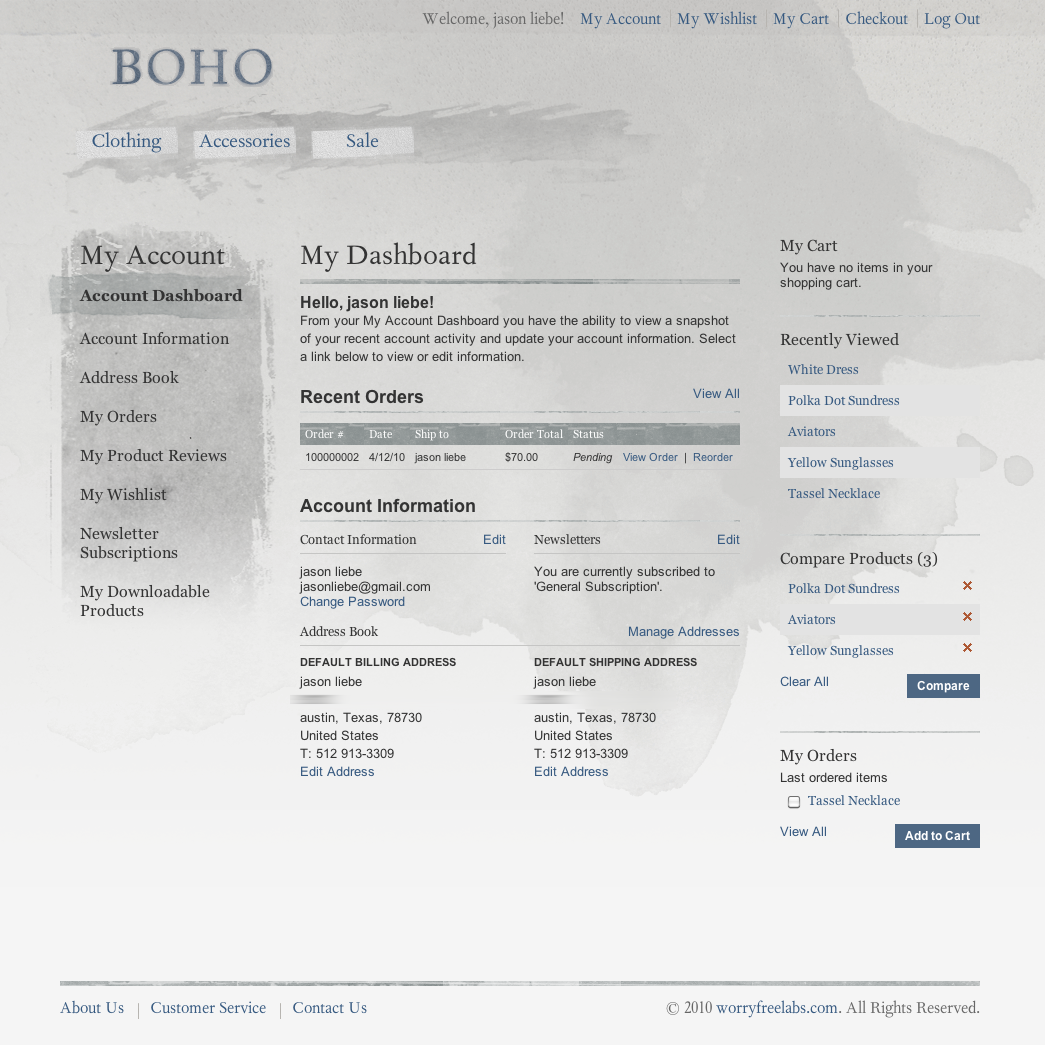 Boho Magento Theme