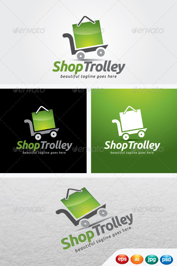 ShopTrolley - Objects Logo Templates