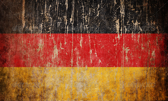 Flag of Germany - Stock Photo - Images