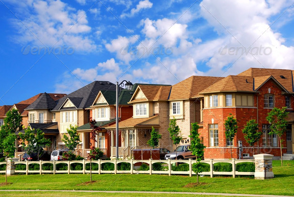 Houses - Stock Photo - Images