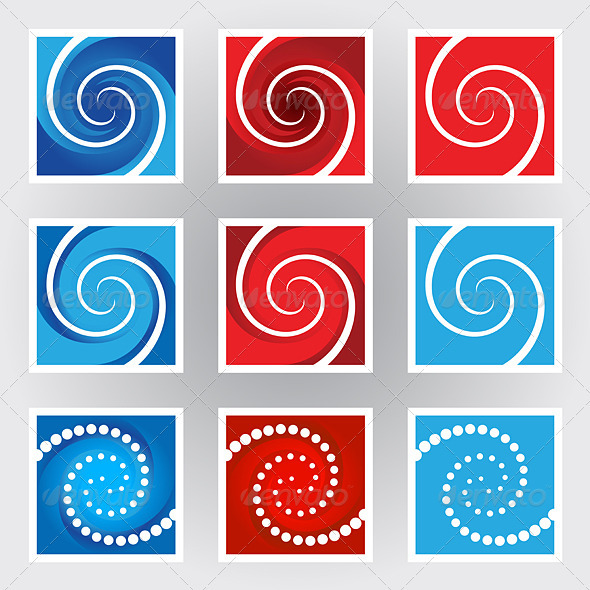 Swirl symbols - Decorative Symbols Decorative