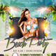 Beach Party - Day and Night Club Flyer - GraphicRiver Item for Sale
