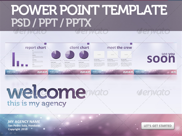 Modern Agency Presentation Templates Designs