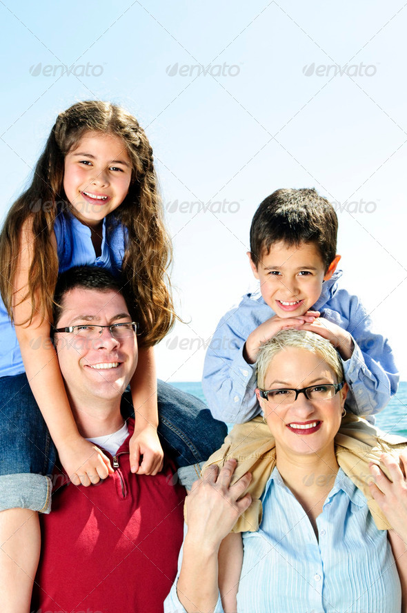 Royalty Free Stock Photography : Happy Family Fun Photodune 196817