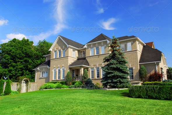 Residential Home - Stock Photo - Images