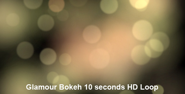 [VideoHive 99672] Glamour Bokeh HD Loop | Motion Graphics