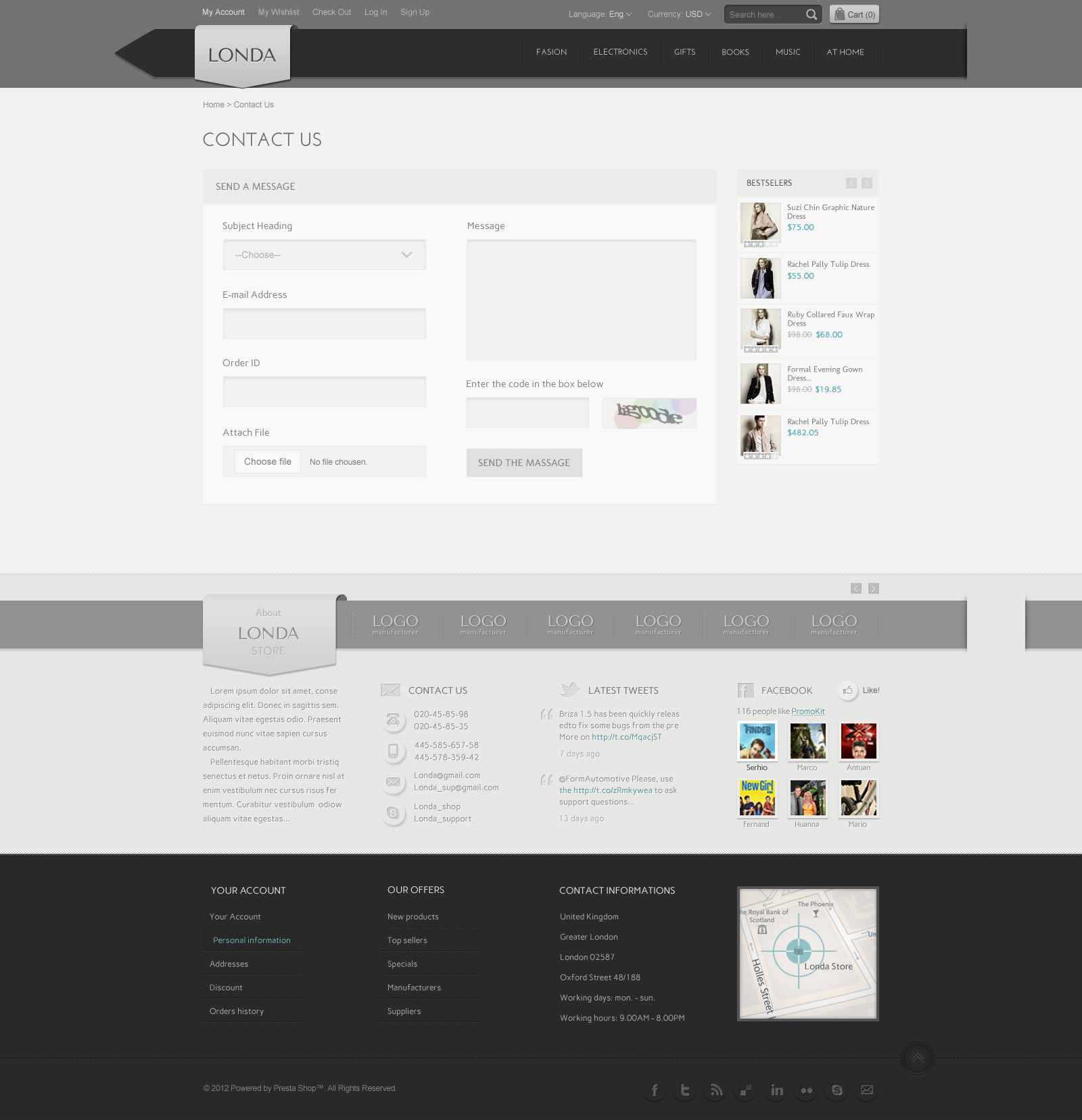 Londa - Modern Store PSD