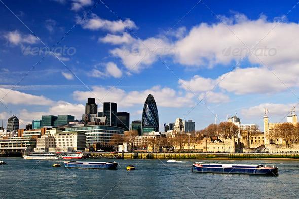 PhotoDune Tower Of London Skyline 197704