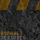 Black Asphalt Textures - GraphicRiver Item for Sale
