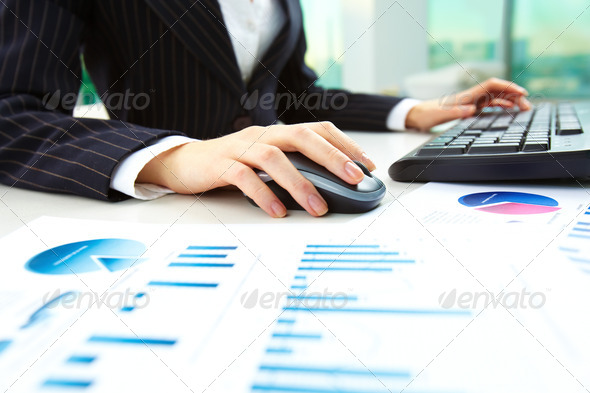 During work - Stock Photo - Images