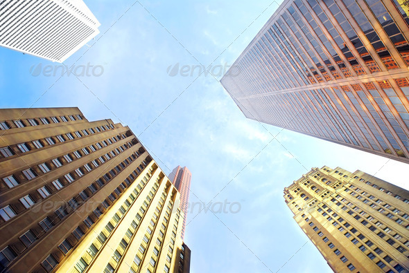 Corporate Buildings - Stock Photo - Images