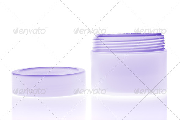 cosmetic cream - Stock Photo - Images