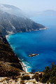 Beautiful Blue Coast in Greece - PhotoDune Item for Sale