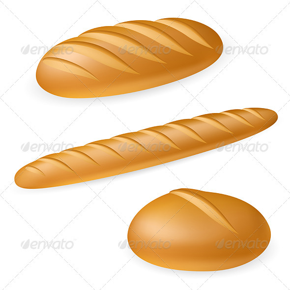 GraphicRiver Three realistic bread 2768984