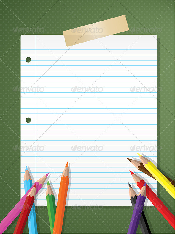 Back To School Background Graphicriver