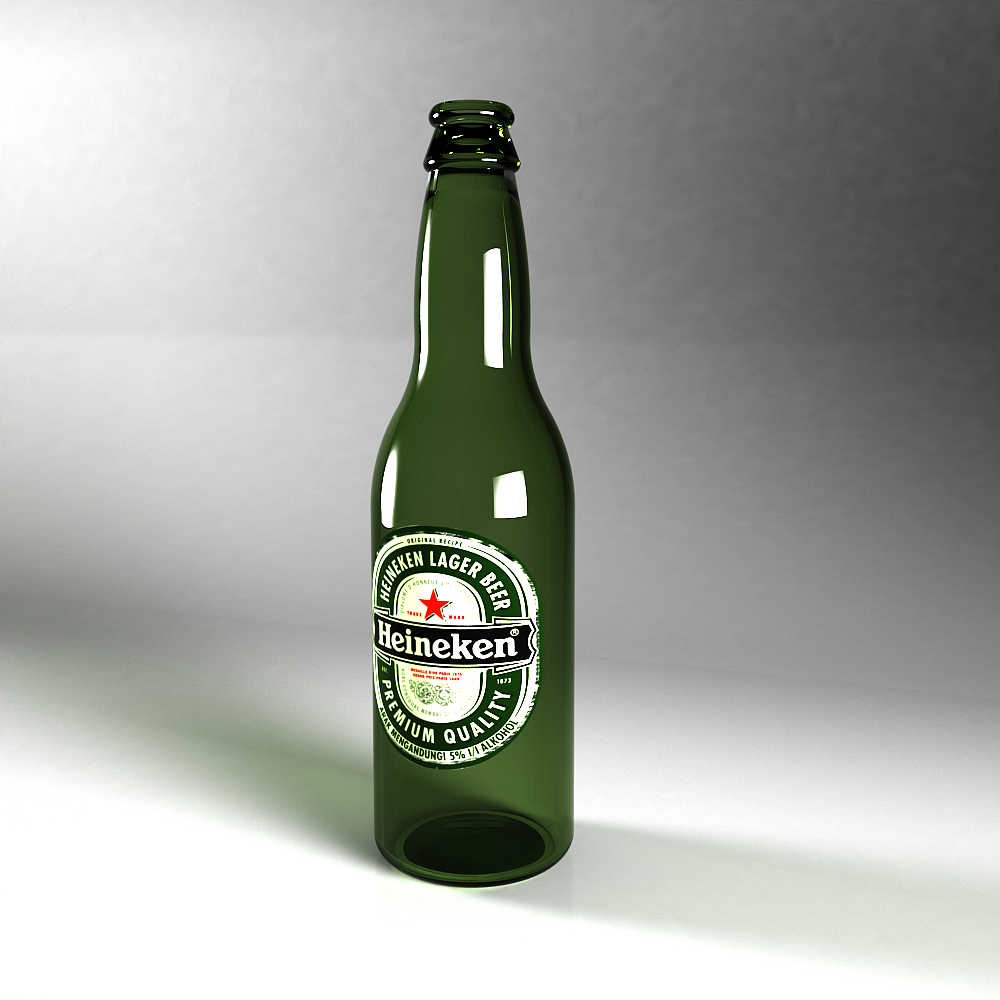 3DOcean Heineken Beer Bottle 2769489