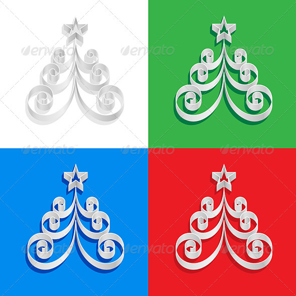 Abstract of paper Christmas trees - Christmas Seasons/Holidays