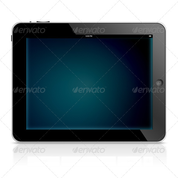 Tablet computer - Stock Photo - Images