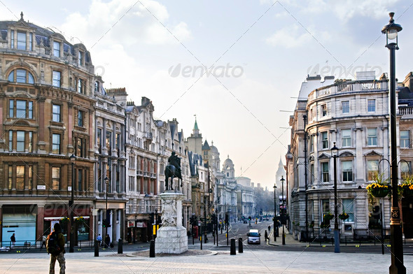 Charing Cross In London - Stock Photo - Images