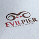 Evil Pier Logo - GraphicRiver Item for Sale