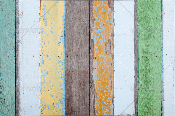 Color-Peel wood texture - Stock Photo - Images