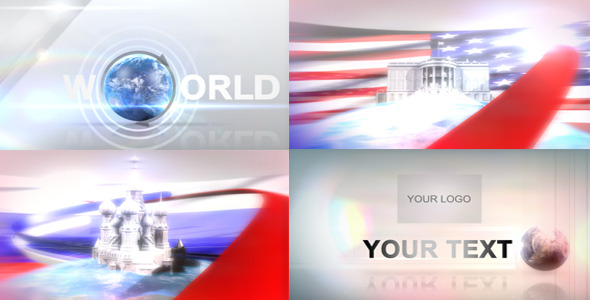 After Effects Project - VideoHive World travel animation 2758108