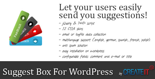 CodeCanyon Suggest Box For Wordpress 2599369