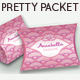 Pretty Packet; Feminine Gift Package Pouch - GraphicRiver Item for Sale