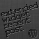 Extended Widget Recent Posts - CodeCanyon Item for Sale