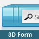 3D Search Form - GraphicRiver Item for Sale