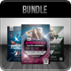 Electro Party Flyer Bundle - GraphicRiver Item for Sale
