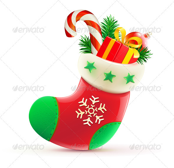 Christmas stocking  - Christmas Seasons/Holidays