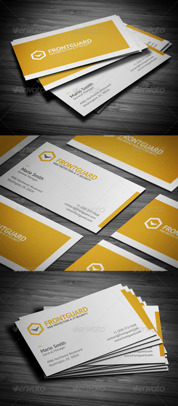 GraphicRiver Creative Business Card 2782686