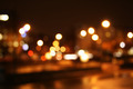 Defocused City Lights At Night - PhotoDune Item for Sale