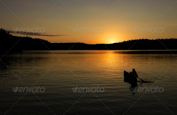 Canoe - Stock Photo - Images