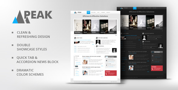 Peak - Business Drupal Theme