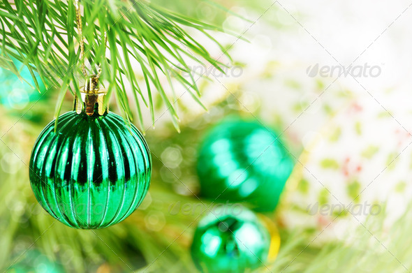 Christmas ball - Stock Photo - Images