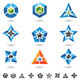 cubes, stars, pyramids - GraphicRiver Item for Sale