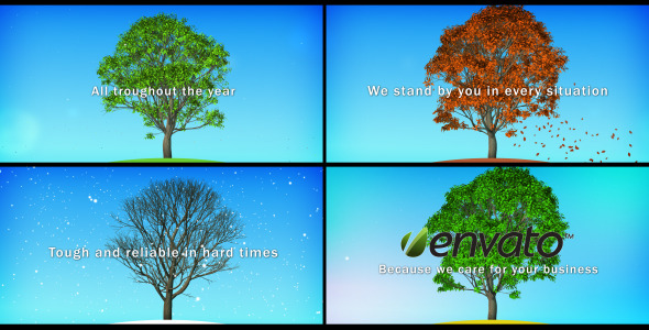 After Effects Project - VideoHive Four Seasons Promotion Presentation Foota ...