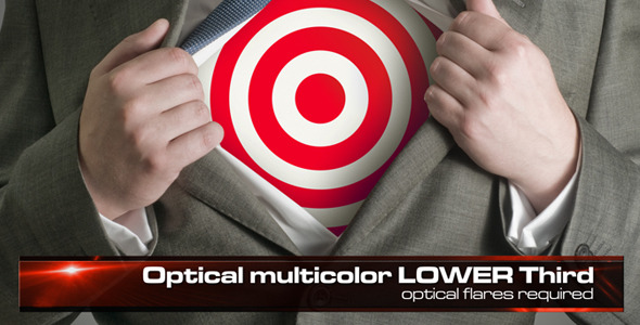 HD Optical Lower Third 6 in 1 VideoHive  Elements  Lower-Third 97467