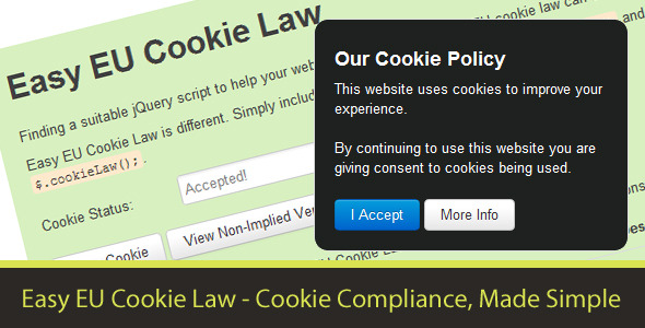 CodeCanyon Easy EU Cookie Law 2785840